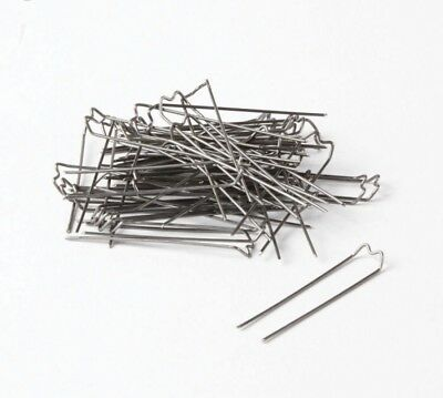 100 Floristry German Mossing Greening Pins 40Mm X 10Mm