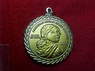 Native American Medallion Coin Mohawk Iron Workers