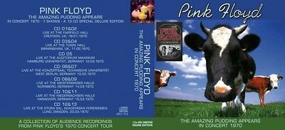 Pink Floyd – The Amazing Pudding Appears In Concert 1970 13 CD Limited Edition