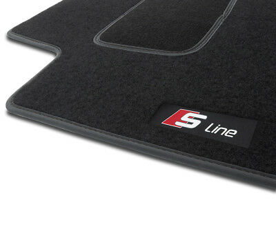 S1HS TAPPETI TAPPETINI moquette velluto S-LINE AUDI A3 S3 RS3 8P 2003-2013