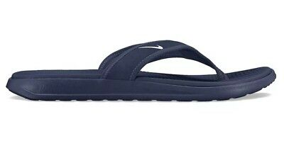 1cecb5f71dfc Nike Ultra Celso Thong Mens 882691-401 Midnight Navy White Sandals Size 14