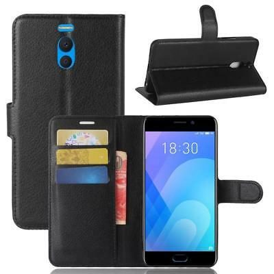 Fashion Wallet PU Leather Case Cover For Meizu M6 Note Flip Protective Phone Bac