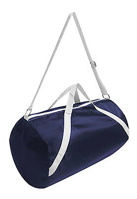 Girls Royal Blue Nylon Duffle Bag Duffel Dance Cheer Cheerleading Sports Gym