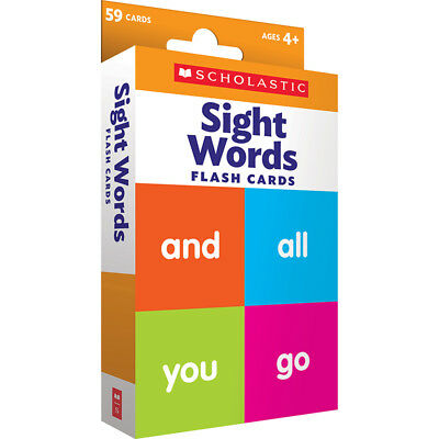 Scholastic Teaching Resources - Flash Cards Sight Words
