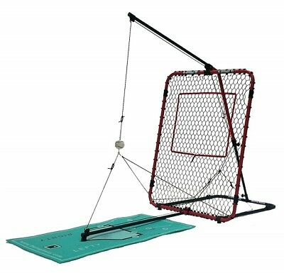 Baseball Training Aid Swingaway Hitting Trainer Batting Station Swing Mechanics
