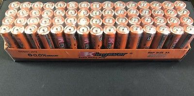 Best AA Batteries Kingever Extra heavy Duty Double A 60 Pack Carbon Baterias AA
