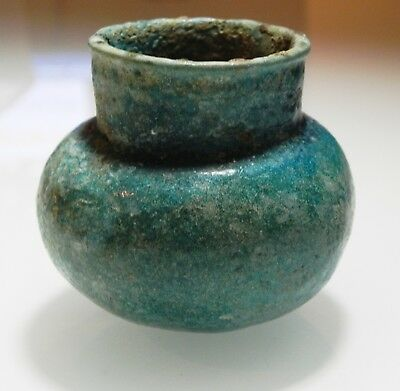 ZURQIEH -as10614-  ANCIENT PARTHIAN. 247 B.C- 224 A.D. GLAZED TERRACOTTA VESSEL