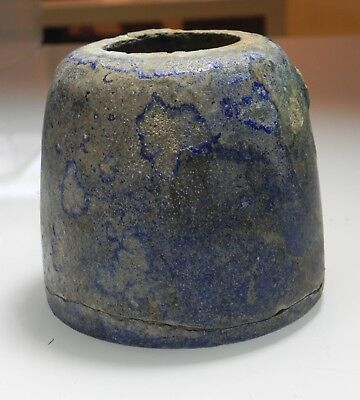 ZURQIEH -as10615-  ANCIENT PARTHIAN. 247 B.C- 224 A.D. GLAZED TERRACOTTA VESSEL