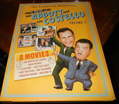 The Best Of Abbott Costello Vol 1 2 DVD Set 1940 42