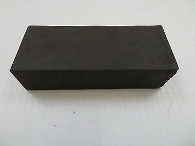 "1 3/4"" x 1"" x 4"" Black Ebony Wood Lumber Blank DIY Material for Music Instrument"