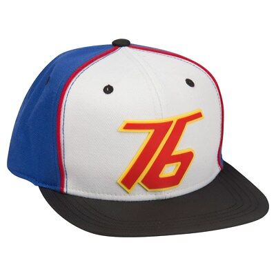 4b510d21f AUTHENTIC OVERWATCH SOLDIER 76 Logo Snapback Hat White Blue NEW ...