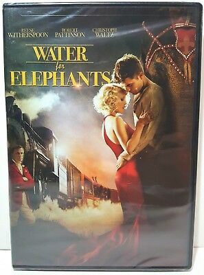 Water for Elephants DVD, Drama, Romance Movie, Reese Witherspoon Film Brand New