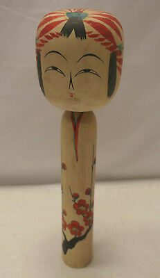 Kokeshi Traditional Style Wooden Japanese Doll Vintage  #548