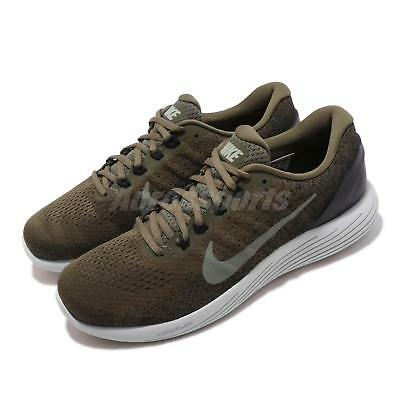 9d187f9ccbda7 Nike Lunarglide 9 IX Olive Green Black Men Running Shoes Sneakers 904715-200
