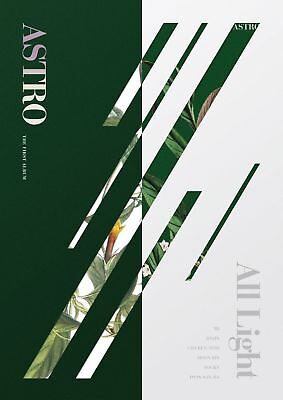 ASTRO All Light [Green, White ver. SET] 2CD+2Posters+Postcard+Photocard