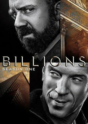 Billions: complete Season 1 series first One dvd new sealed + FREE TRACKING