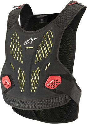 Alpinestars MX Sequence Soft-Shell Chest Protector Roost Guard (Black/Red)