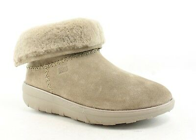 092839589fe NEW FITFLOP WOMENS Mukluk Shorty 2 Desert Stone Snow Boots Size 9 ...