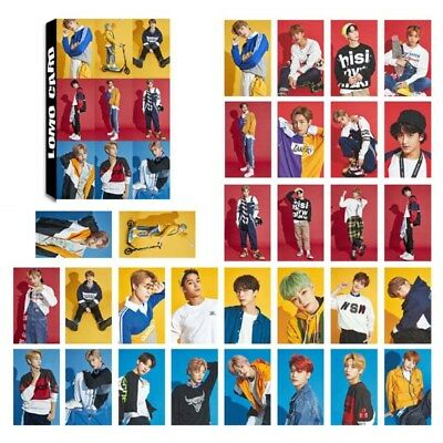 30pcs/set NCT SEASON'S GREETING Lomo Cards Collective Photocards Kpop Cards New