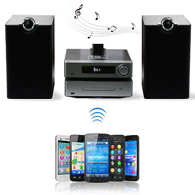 30 Pin Bluetooth 4.0 Wireless Music Receiver Adapter Dock Audio For iPhone
