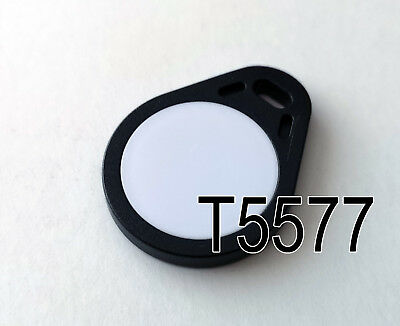 T5577 Keyfob Tear Black/White