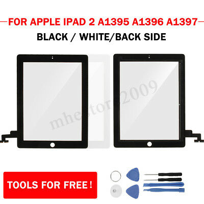 Touch Screen Digitizer Glass Replacement For Apple iPad 2 A1395 A1396 1397 Tools
