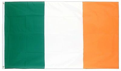 Republic Of Ireland 5ft x 3ft Tri CoIour Irish Flag St Patricks Day Party QR35