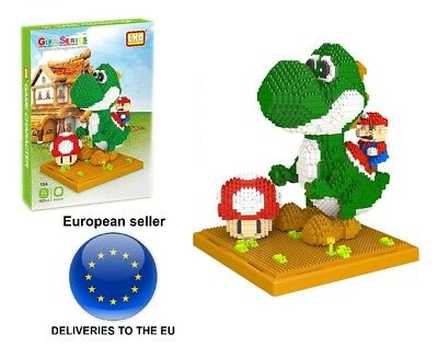Figura 12cm YOSHI DRAGO Draghetto BANPRESTO JAPAN Super Mario Bros Kart Land NEW