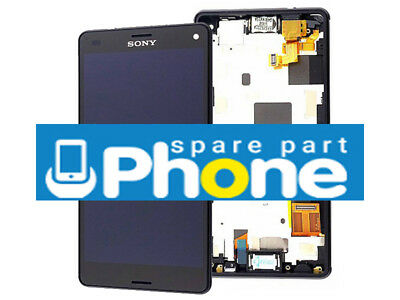 Original SONY Xperia Z3 Compact LCD DISPLAY TOUCH DIGITIZER GENUINE BLACK
