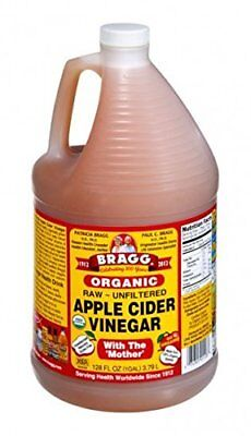 BRAGG Apple Cider Vinegar, 3.8 Liters USDA Organic Naturally Gluten Free