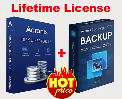 Acronis Disk Director 12 & Acronis Disk Director BootCD | Lifetime License Key