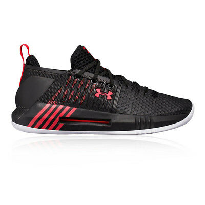 Under Armour Mens Drive 4 Basketball Shoes Black Sports Breathable Lightweight