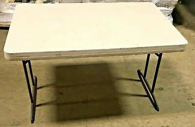 """Lifetime Folding Commercial Table 48"""" x 30"""" Utility Table"""