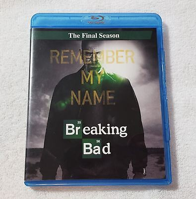 AMC Breaking Bad The Complete Fifth Final Season on Blu-Ray - Watched Once