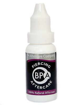 BPA ~ Ear & Body Piercing Aftercare Solution ~ Cruelty Free ~ 100% Natural