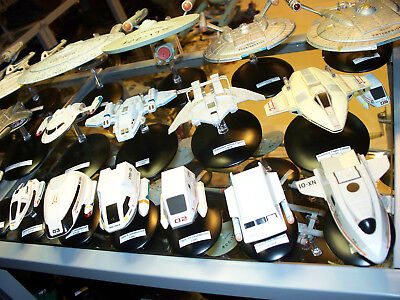 Eaglemoss Star Trek Ships - Name & Scale Labels - Over 220 sticky tags!