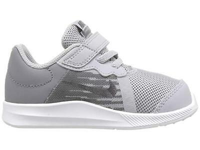 competitive price e3628 1448d Nike Boy s Downshifter 8 (TDV) Wolf Grey Metallic Dark Grey   922856-