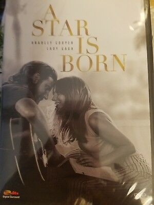 A Star Is Born (2019, DVD) PRE-ORDER SHIPS 2/19/19 FREE SHIPPING IN THE U.S.A.