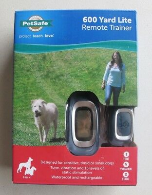 PetSafe 600 Yard Lite Remote Trainer Rechargeable Waterproof PDT00-16027