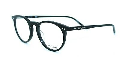 08dbb943d47 CALVIN KLEIN CK5937 001 47 19 New BLACK Authentic MEN Women EYEGLASSES Frame