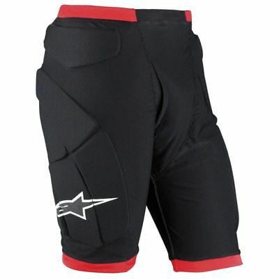 ALPINESTARS COMP PRO Shorts Padded Compression Body Armor Protector Sz LG