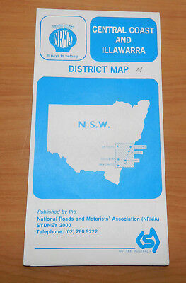 NRMA Map Collection - Districts of NSW - 1980s - 11 Maps In Total!