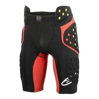 ALPINESTARS SEQUENCE Shorts Padded Compression Body Armor Protector Sz LG