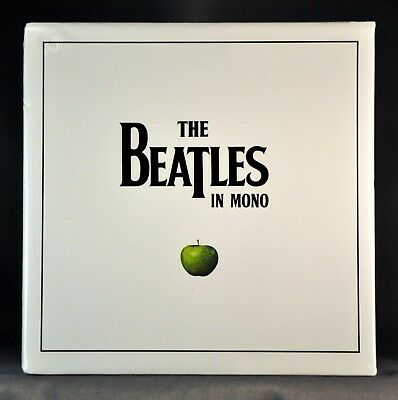 The BEATLES Orig. 2009 JAPAN MONO Empty BOX,Drawer and Back Ad w/ NO Mini LP CDs