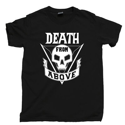 Starship Troopers T Shirt Death From Above Mobile Infantry Roughnecks Movie Tee
