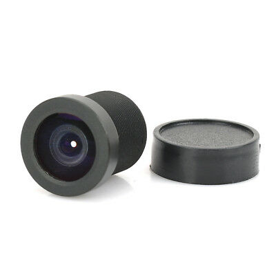 Black 1.8mm 170 Degree Replacement Fixed Iris Lens for CCTV Camera
