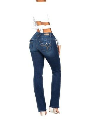 bc746252f86 YMI Wannabettabutt Mid-Rise 2-Button Bootcut Luxe Jeans