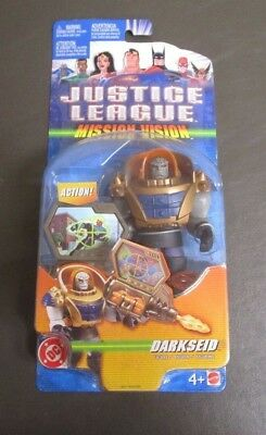 Justice League Mission Vision Darkseid Figure 2003 Mattel new in box