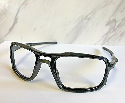 6e61cdeb7b953 New Oakley Triggerman Sunglasses Polished Black (Frames Only) Silver