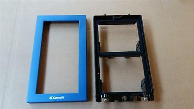 Comelit 3311/2B Powercom Frame Two Modules With Frame Blue